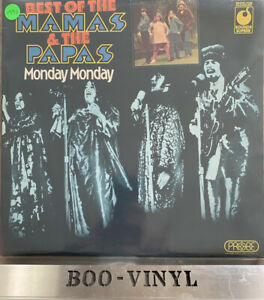 Mama's And The Papa's Monday Monday USA vinyl LP album record SPR 90025 Ex Con