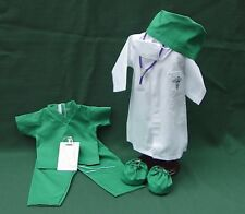 DOCTOR HOSPITAL SCRUBS + ACCESSORIES 8 PIECE QUALITY SET American Girl 18 DOLLS