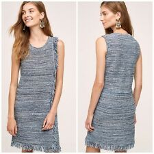 Anthropologie Holding Horses Fringe Sweater Dress Size Small- New WITH Tags $138