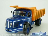 BERLIET GLM 10 MODEL TIPPER DUMPER LORRY TRUCK 1:43 SCALE IXO BLUE/ORANGE K8