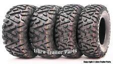 Full Set WANDA ATV/UTV Tires 25x8-12 25x8x12 & 25x10-12 25x10x12 6PR P350 Mud