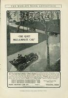 1907 Ad Pope Motor Car Toledo Quiet Mile A Minute Ohio Print Advertisement