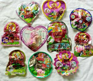 10 verschiedene Filly Teile*Eis,Unicorn,Elves,Fairy,Butterfly Exklusive(a2)