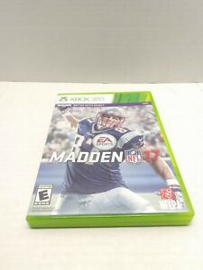 Madden NFL 17 (Microsoft Xbox 360, 2016) Game Case and Inserts Tested Fast Ship
