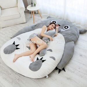 Super Big 250x180CM Lazy Tatami Sleeping Bed Sofa for Adult Warm Cartoon Cat