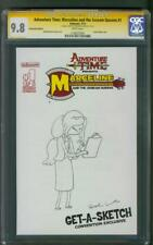 Adventure Time 1 CGC SS 9.8 Marceline and Scream Queens Lamb Original art Sketch