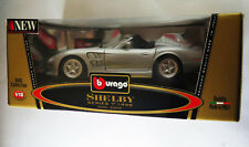 6739:Bburago Shelby,Series1, 1999,1:18,silber, Gold Edition,Mod.3323, in OVP.