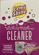 Lemi Shine Washing Machine Cleaner ~ 1 Cleaning Pouch Plus 1 Wipe