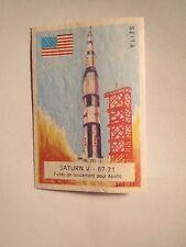 Seita - Saturn V 67/71 - Fusee de lancement pour Apollo / Streichholzetikett