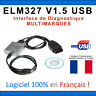 Interface Diagnostique ELM327 PRO USB - ELM 327 Valise COM