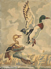 Mallard Ducks Pair  Paint By Number Scene  Refrigerator / Tool  Box  Magnet