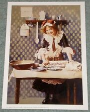 The Dough Girl: Cute Vintage Look Kitchen Art - 9x13 In. Print