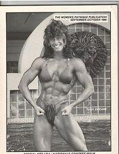 Women's Physique Publication Female Muscle TARA DODANE/ CATHEY PALYO 10-86