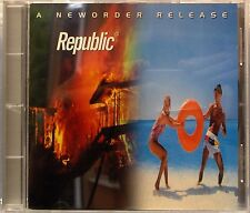 """New Order - Republic (CD 2000) Features """"Regret"""" """"World"""" """"Ruined In a Day"""""""