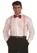 Candy Cane Suspenders - Christmas Festive Holidays