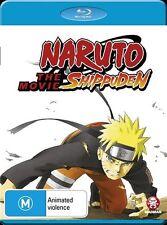 Naruto Shippuden the Movie NEW B Region Blu Ray
