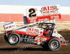 SPRINT CAR PHOTO WORLD OF OUTLAWS BRENT KAEDING SAN JOSE RACEWAY 1997