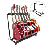 Gitarrenständer Rockstand Mehrfachständer 7Stk Electric Gitarrenständer Stativ