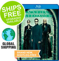 Matrix Reloaded (Blu-ray, 2010) NEW, Laurence Fishburne, Carrie-Anne Moss, Keanu