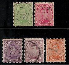 BELGIUM 1915 - 1920 Old Stamps - King Albert I