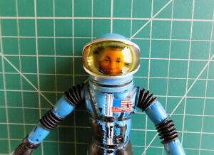 "1966 Mattel Major Matt Mason - SPACE HELMET - ""Mattel's Man In Space"""