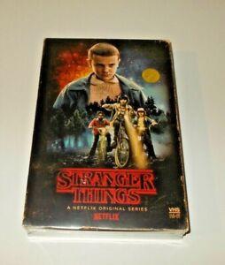 Stranger Things Season 1 Blu ray & DVD retro VHS style packaging target Region A
