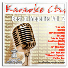 Karaoke CDG CD+G - Best of Megahits Vol.2 - Pop und Chart Megahits - Neuware