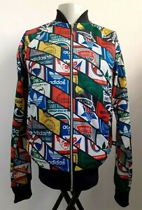 Adidas Stan Smith Top Ten Rare Retro Vintage Track Jacket S / Tennis Logo Tag 🎾