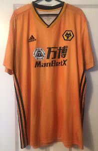 Wolverhampton Wanderers 19/20 Home Shirt - Adama Traore 37 Print - XL Wolves