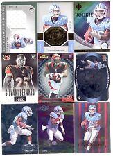 137ct Giovani Bernard 2013 Football Rookie RC Card Lot - Jersey & Serial #