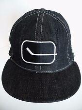NHL Hockey Stick Black 100% Cotton One Size 7 1/4 Hat Cap. 58cm. New Era