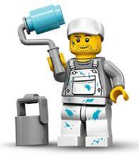 Lego 71001 Minifigures serie 10 Pittore Imbianchino con Rullo e Secchio Nuovo
