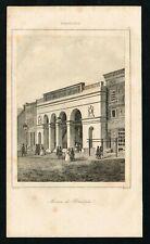 1837 Philadelphia Museum Building, USA, Antique Print - Rochelle