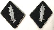 WWII GERMAN WAFFEN Standartenfuhrer (COLONEL) COLLAR TABS