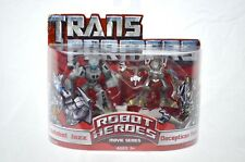 Transformers Robot Heroes Autobot Jazz and Decepticon Frenzy 2007 Movie Series