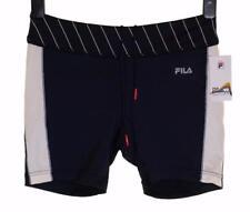 New Womens Fila Flow Stretch Sports Shorts Athletic Running Medium UK12 Hot Pant
