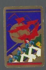 Playing Swap Cards 1 VINT HORNPIPE  DANCERS  OFF THE  SHIP  DECO  DELUXE  792