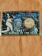 Cody Bellinger LA Dodgers 2017 NL Rookie of the Year