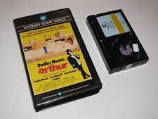 Betamax Video ~ Arthur ~ Dudley Moore ~ Pre-Certificate ~ Warner Home Video