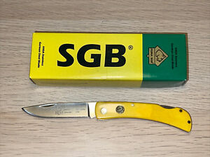 Puma SGB Lonestar30 German Steel Yellow Bone Lockback Folding Knife Discontinued