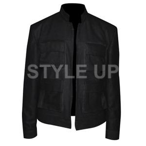 Star Wars The Empire Strikes Back Stylish Casual Bomber Black Cotton Jacket