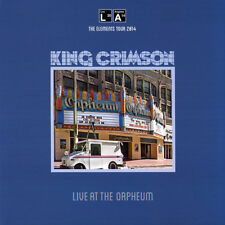 King Crimson LIVE AT THE ORPHEUM 200g GATEFOLD New Sealed Vinyl Record LP