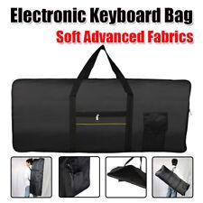 Protable 61-Key Keyboard Bag Electric Piano Padded Case Bag Oxford Heavy Duty