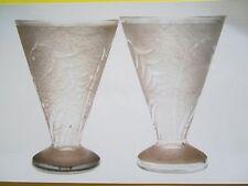 vases art déco, signé Lorrain France