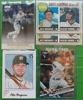 (23) 2017 Alex Bregman RC Rookie LOT & (3) 2016 Bowman-Chrome, Heritage, Gallery