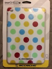Scosche snapSHIELD m1 Protective Stylized Cover for iPad mini -Polka Dot Pattern