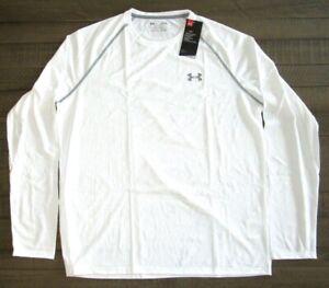 Under Armour Men's Long Sleeve Tech Tee Shirt  1264088  White   Sm - 4xl