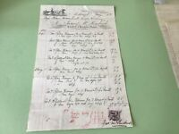 James Kendrick 1895 Motherwell Saddler illustrated receipt Ref R32139