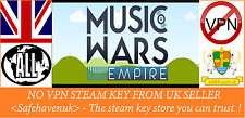Music Wars Empire Steam key NO VPN Region Free UK Seller
