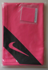 """Nike Unisex Cooling Small Towel Color Hyper Pink/Black Size 36"""" X 18"""" New"""